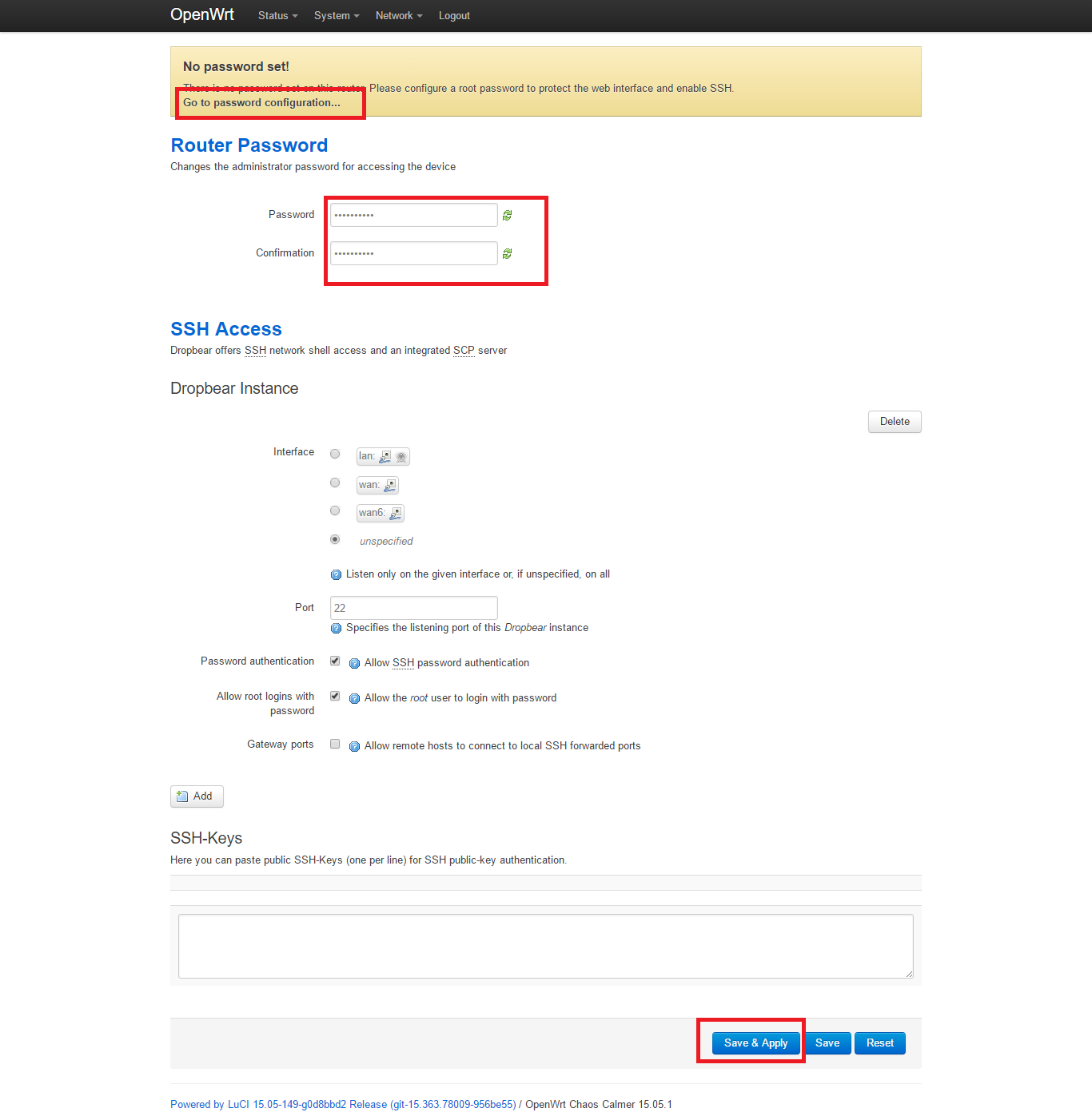 Re-initializing a TP-Link841N using OpenWRT – Marketing4WiFi