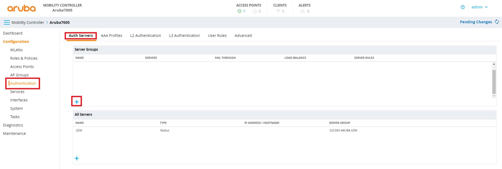 Configure Aruba controller (8 2 1 1) – Marketing4WiFi Platform